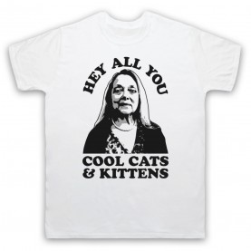Tiger King Carole Baskin Hey All You Cool Cats & Kittens Mens White T-Shirt