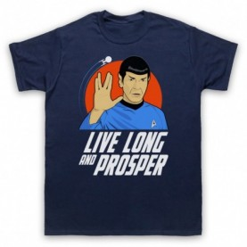 Star Trek Spock Live Long And Prosper T-Shirt T-Shirts