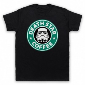 Star Wars Death Star Coffee Stormtrooper Parody T-Shirt Home