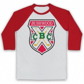 Caddyshack Bushwood Country Club Crest Logo Baseball Tee Baseball Tees