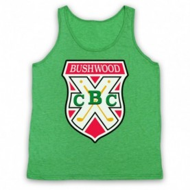 Caddyshack Bushwood Country Club Crest Logo Tank Top Vest Tank Top Vests