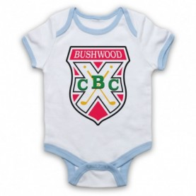 Caddyshack Bushwood Country Club Crest Logo Baby Grow Bib Baby Grows & Bibs