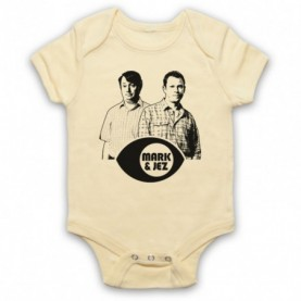 Peep Show Mark & Jez Baby Grow Bib Baby Grows & Bibs