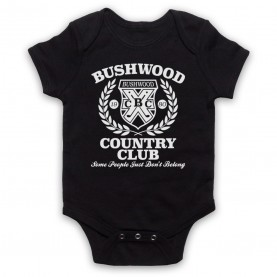 Caddyshack Bushwood Country Club Some People Just Don't Belong Black Baby Grow