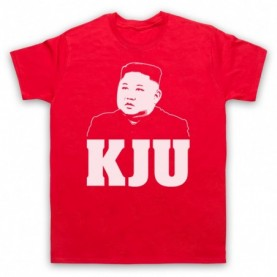 Kim Jong Un KJU North Korean Dictator T-Shirt T-Shirts