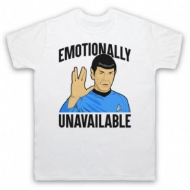 Star Trek Spock Emotionally Unavailable T-Shirt T-Shirts
