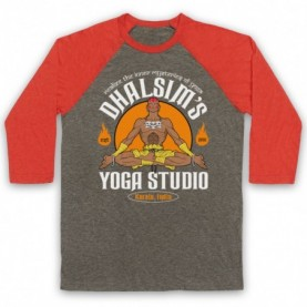 Street Fighter Dhalsim's Yoga Studio Baseball Tee Baseball Tees