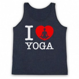 I Love Yoga Stretching Fitness Workout Tank Top Vest Tank Top Vests