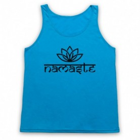 Namaste Yoga Slogan Greeting Tank Top Vest Tank Top Vests