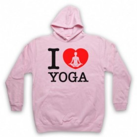 I Love Yoga Stretching Fitness Workout Hoodie Sweatshirt Hoodies & Sweatshirts