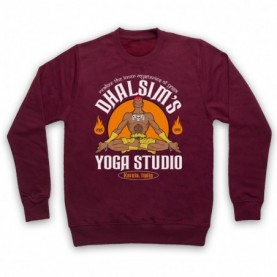 Street Fighter Dhalsim's Yoga Studio Hoodie Sweatshirt Hoodies & Sweatshirts