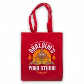 Street Fighter Dhalsim's Yoga Studio Tote Bag Tote Bags