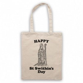 Happy St Swithin's Day Swithun Weather Folklore Tote Bag Tote Bags