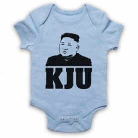 Kim Jong Un KJU North Korean Dictator Baby Grow Bib Baby Grows & Bibs