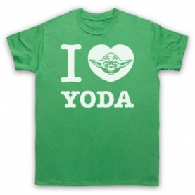Star Wars I Love Yoda T-Shirt T-Shirts