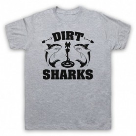 Detectorists Dirt Sharks Metal Detecting Club T-Shirt T-Shirts