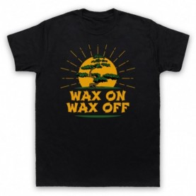 Karate Kid Wax On Wax Off Bonsai Tree T-Shirt T-Shirts