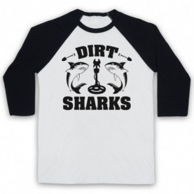 Detectorists Dirt Sharks Metal Detecting Club Baseball Tee Baseball Tees