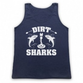 Detectorists Dirt Sharks Metal Detecting Club Tank Top Vest Tank Top Vests