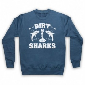 Detectorists Dirt Sharks Metal Detecting Club Hoodie Sweatshirt Hoodies & Sweatshirts
