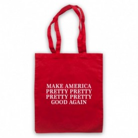 Curb Your Enthusiasm Make America Pretty Pretty Good Again Tote Bag Tote Bags
