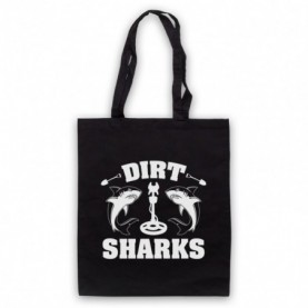 Detectorists Dirt Sharks Metal Detecting Club Tote Bag Tote Bags