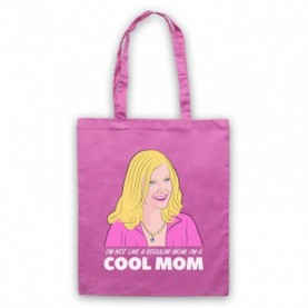 Mean Girls I'm Not Like A Regular Mom I'm A Cool Mom Tote Bag Tote Bags
