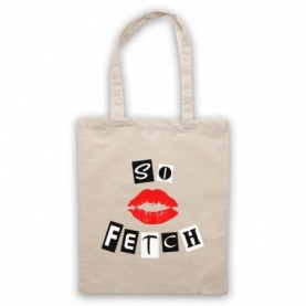 Mean Girls So Fetch Tote Bag Tote Bags
