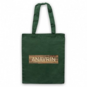 You Anavrin Store Wooden Sign Logo Tote Bag Tote Bags