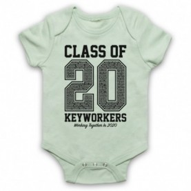 Class Of 2020 Keyworkers Working Together Baby Grow Bib Baby Grows & Bibs