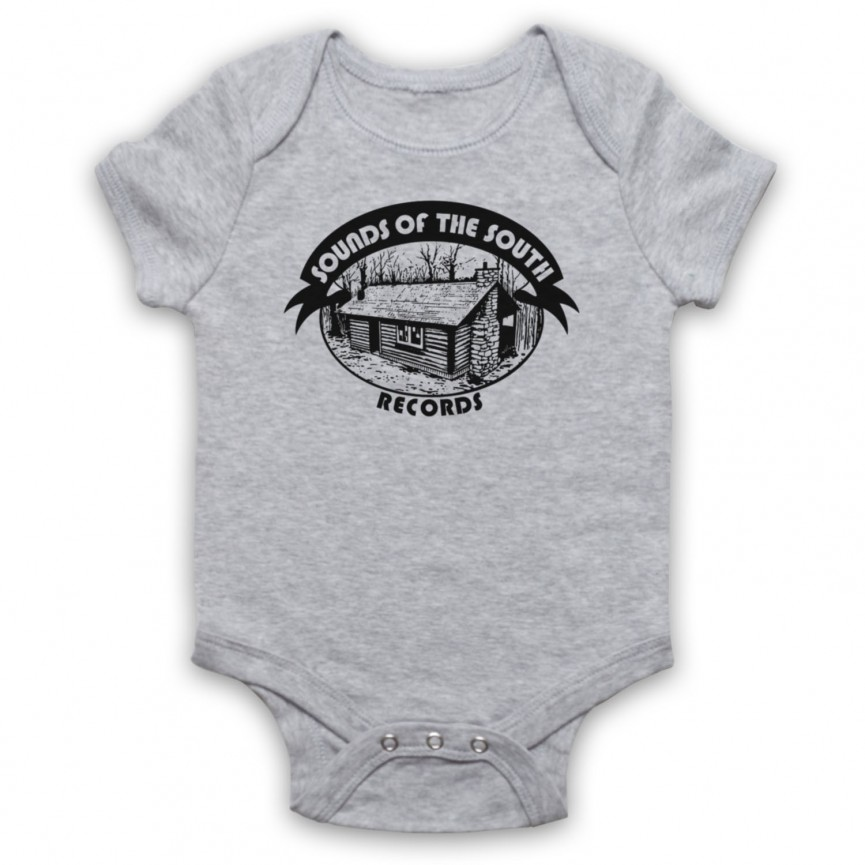 Sounds Of The South Records Lynyrd Skynyrd Baby Grow Bib Baby Grows & Bibs