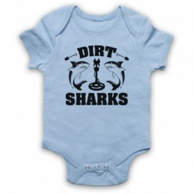 Detectorists Dirt Sharks Metal Detecting Club Baby Grow Bib Baby Grows & Bibs