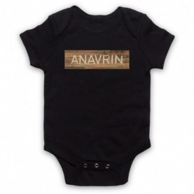 You Anavrin Store Wooden Sign Logo Baby Grow Bib Baby Grows & Bibs