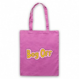 Tracy Beaker Bog Off Pink Tote Bag
