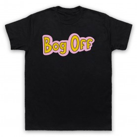 Tracy Beaker Bog Off Mens Black T-Shirt