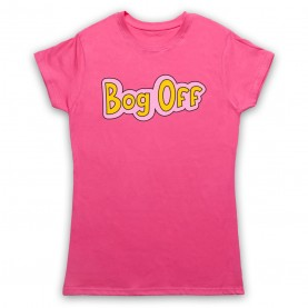 Tracy Beaker Bog Off Womens Pink T-Shirt
