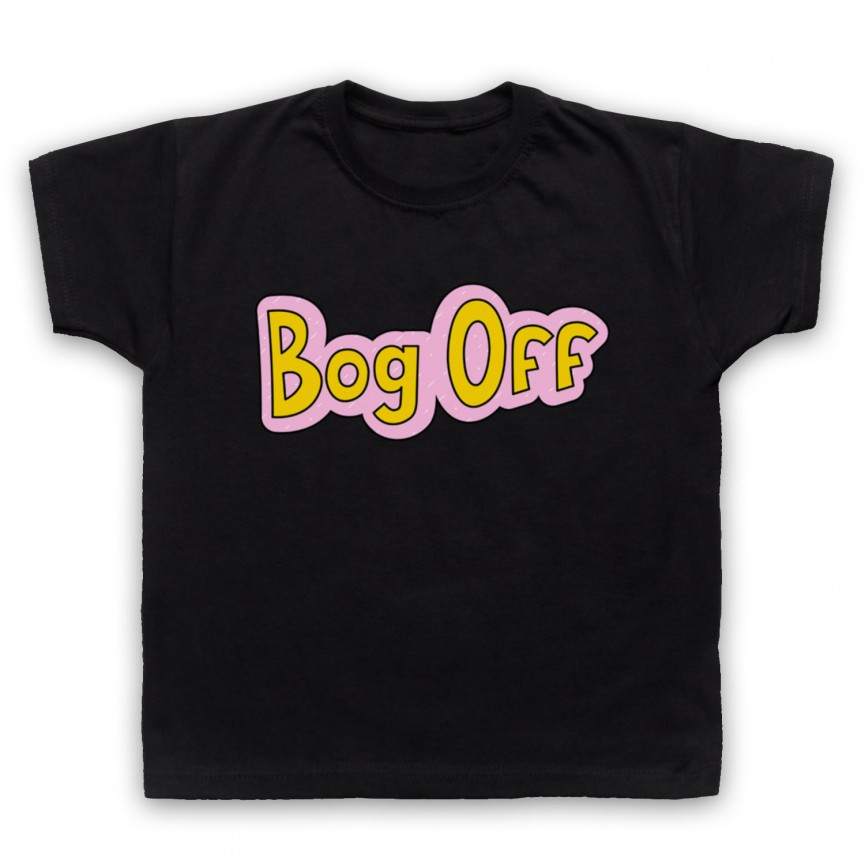 Tracy Beaker Bog Off Kids Black T-Shirt