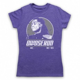 Star Trek Discovery Joann Owosekun Womens Heather Purple T-Shirt