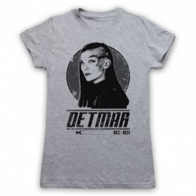 Star Trek Discovery Keyla Detmar Womens Heather Grey T-Shirt