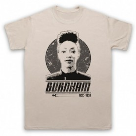 Star Trek Discovery Michael Burnham Mens Sand T-Shirt