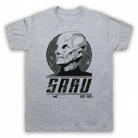 Star Trek Discovery Saru Mens Heather Grey T-Shirt