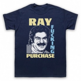 Toast Of London Ray Fucking Purchase Mens Navy Blue T-Shirt