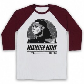 Star Trek Discovery Joann Owosekun Adults White And Maroon Baseball Tee