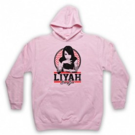 Aaliyah Liyah Babygirl Tribute Adults Light Pink Hoodie