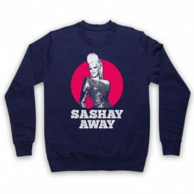 Rupaul's Drag Race Sashay Away Adults Navy Blue Sweatshirt