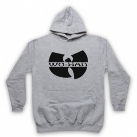 Wu-Tang Clan Wuhan Clan Pandemic Parody Adults Heather Grey Hoodie