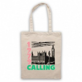 1979 London Calling UK Punk Natural Tote Bag