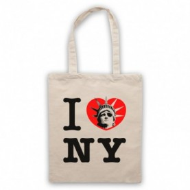 Escape From New York I Love NY Statue Of Liberty Natural Tote Bag
