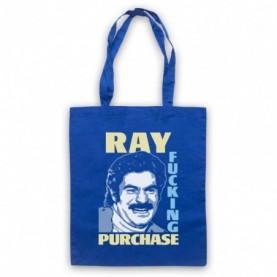 Toast Of London Ray Fucking Purchase Royal Blue Tote Bag