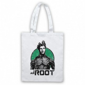 Joe Root I Am Root Groot Guardians Of The Galaxy Parody Cricket White Tote Bag